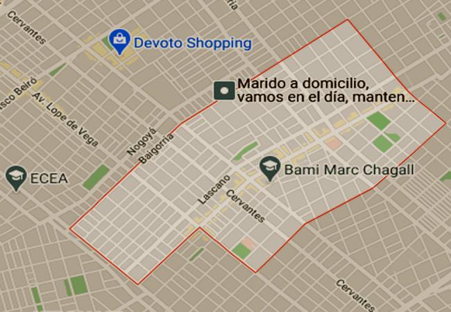 Listado de Colegios Públicos en Monte Castro 1