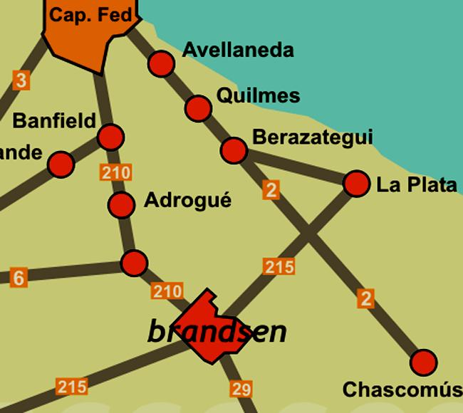 Listado de colegios públicos en Brandsen 1
