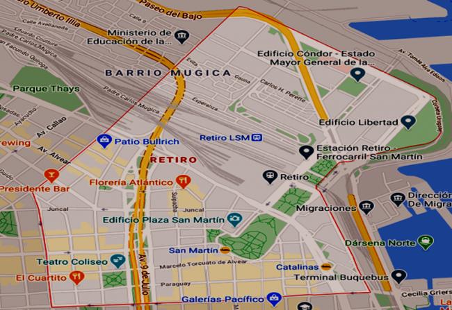 Listado de Colegios privados en el barrio de Retiro 58