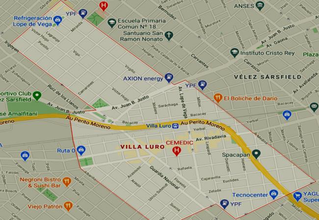 Listado de colegios privados en Villa Luro 22