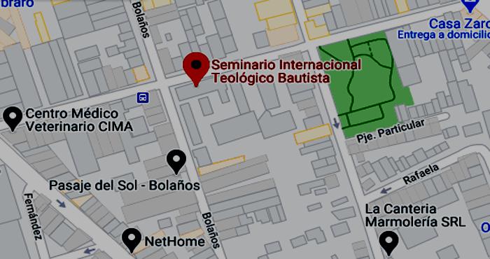 Seminario Internacional Teológico Bautista 2