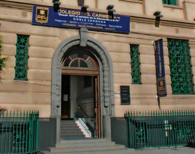 Listado de colegios privados en el barrio de Recoleta 4