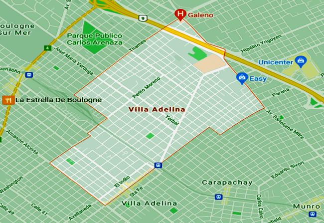 Listado de Colegios privados en Villa Adelina 7