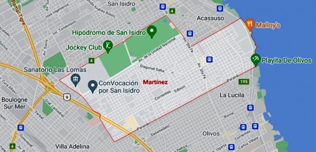 Listado de Colegios privados en Martínez 3