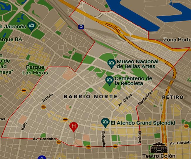Listado de colegios privados en el barrio de Recoleta 63