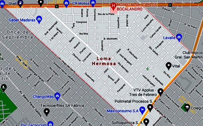 Listado de Colegios privados en Loma Hermosa 60