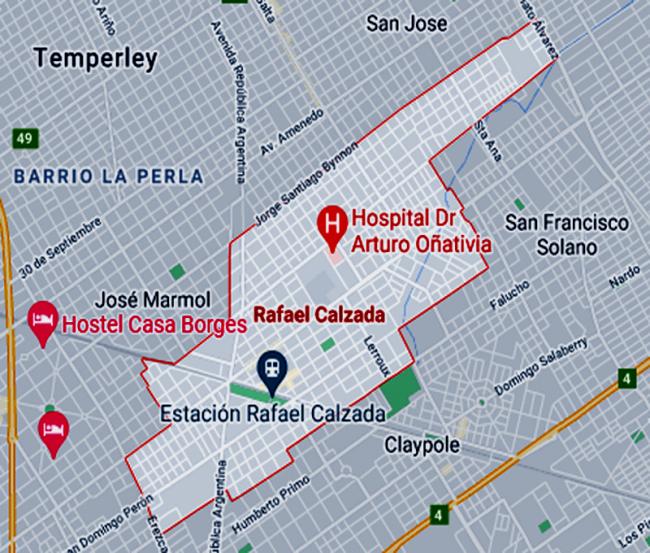 Listado de Colegios privados en Rafael Calzada 1