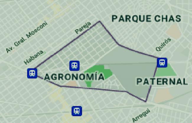 Listado de colegios privados en el barrio de Agronomía 1